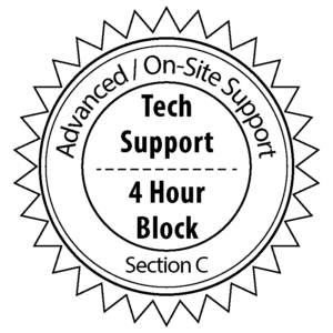 On-Site / Advanced Tech Support (Section C)