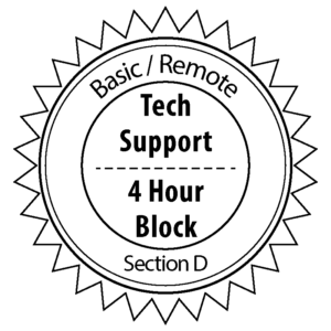 Remote / Basic Tech Support (Section D)